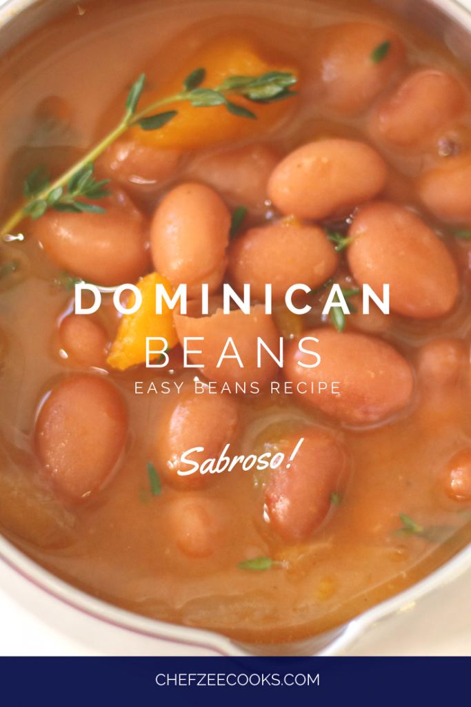 Easy dominican beans chef zee cooks easy dominican beans made to order chef zee cooks forumfinder Image collections