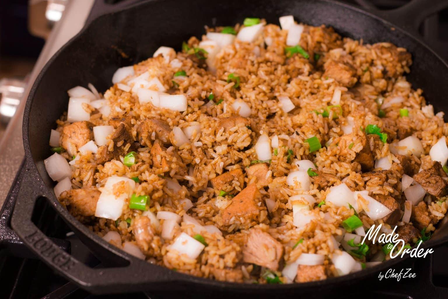 how to make pork fried rice youtube choice image