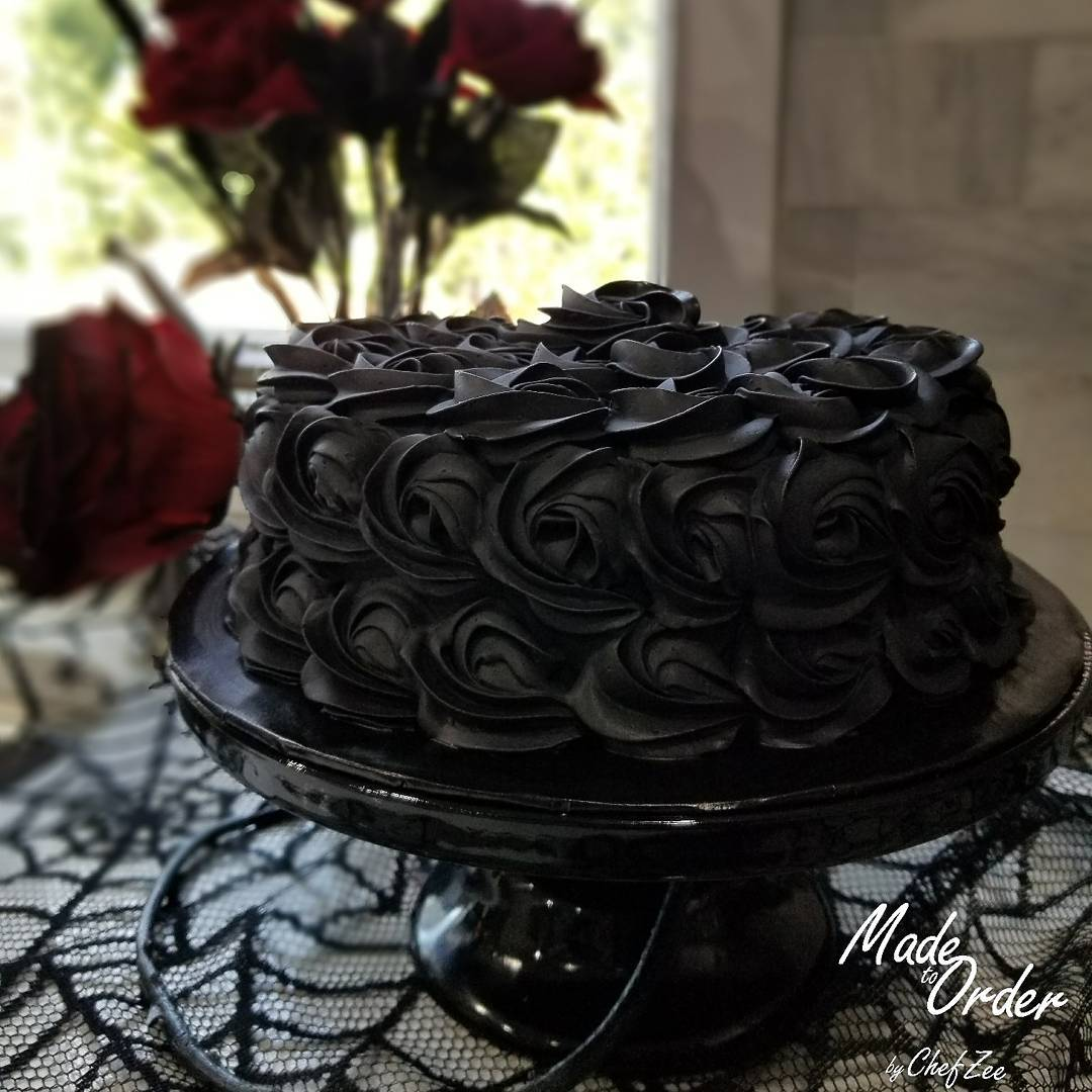 Black And Gold Cake Mix