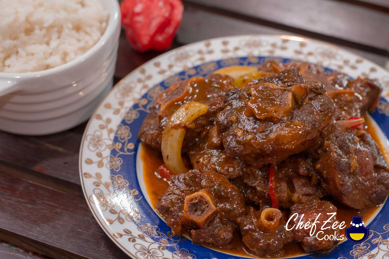 Oxtail Stew Rabo Encendido Chef Zee Cooks