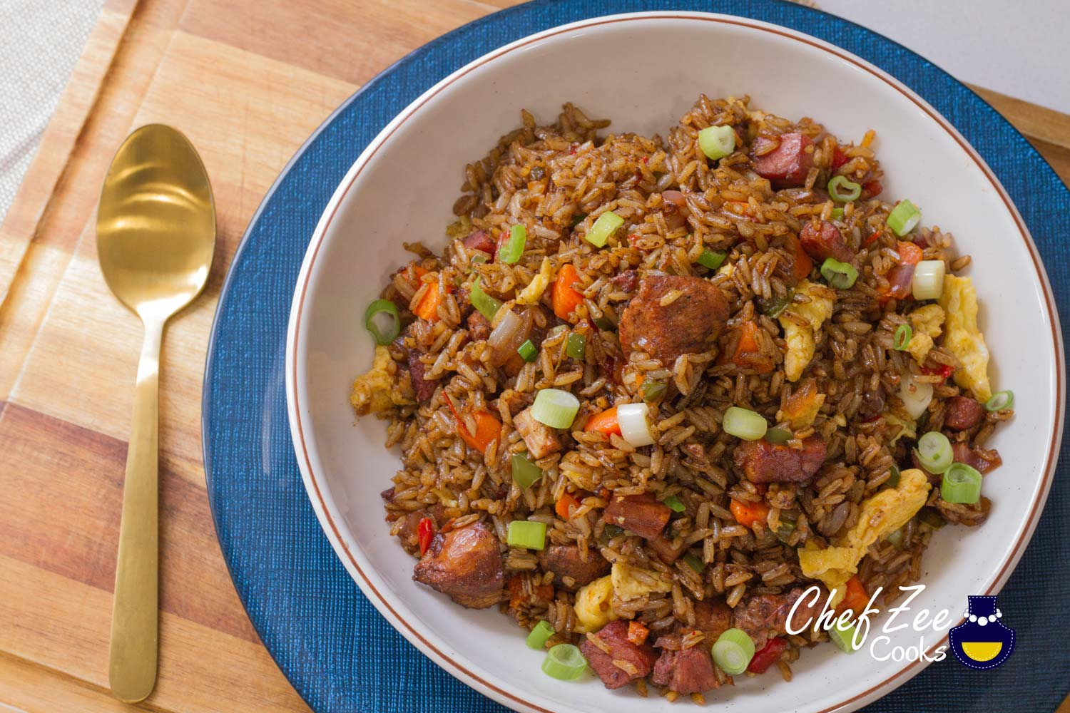 Chofan Dominicano Arroz Chino Chef Zee Cooks