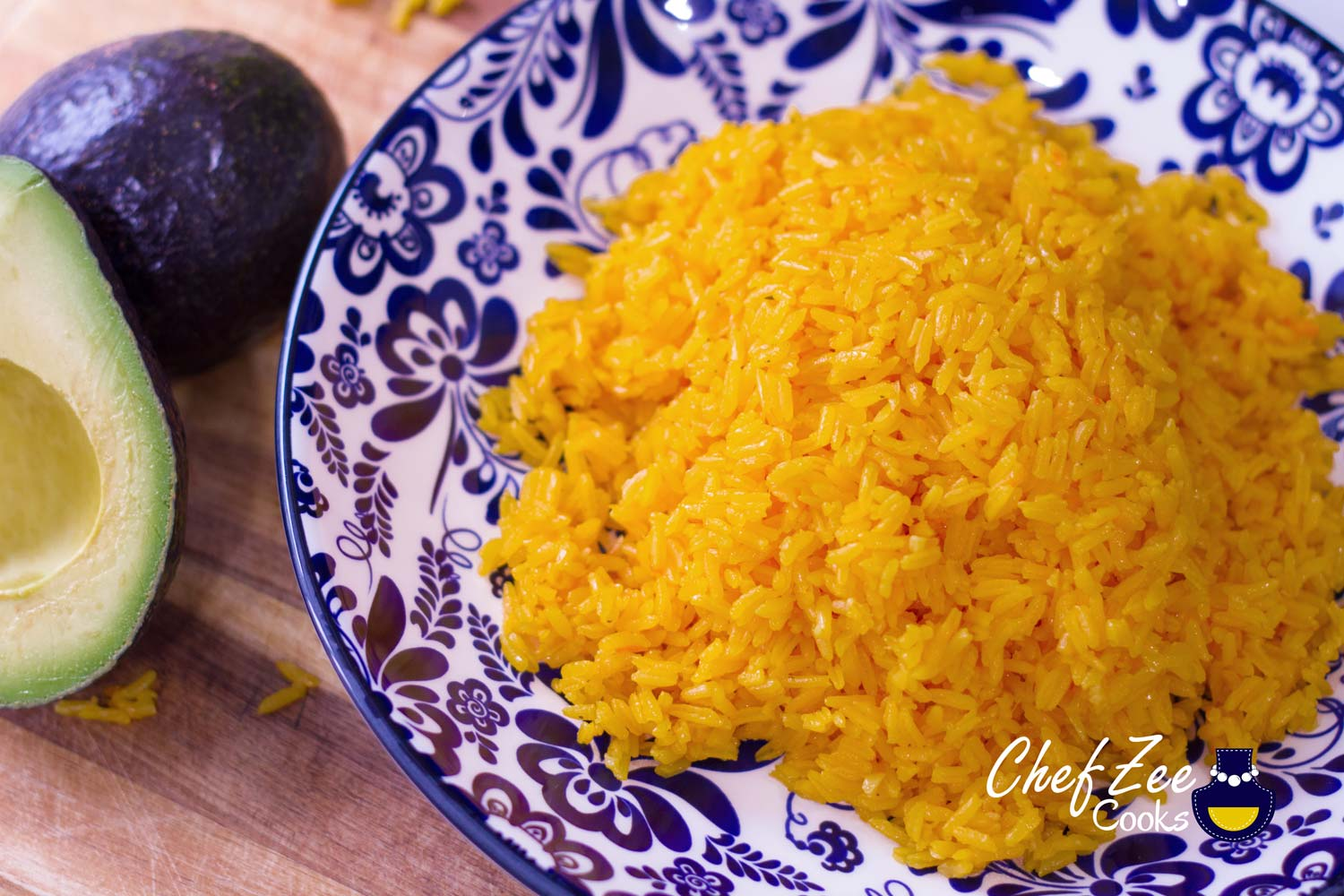 Yellow Spanish Rice Arroz Amarillo Chef Zee Cooks